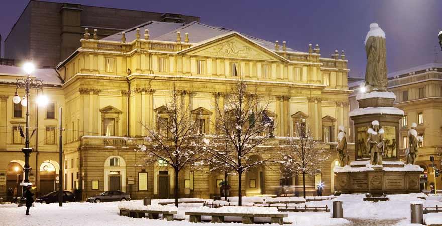 Scala in Mailand in Italien