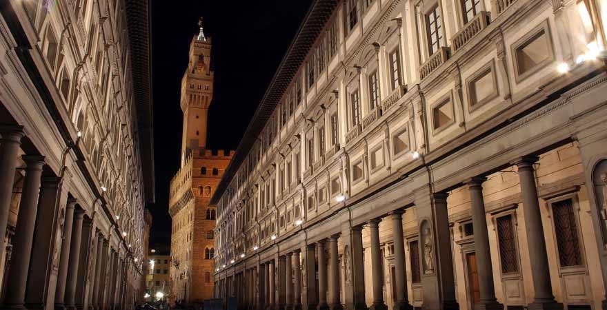 Uffizien in Florenz in Italien