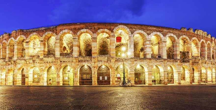 Arena di Verona in Italien