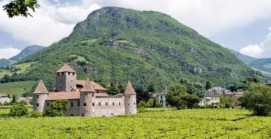 Castel mareccio in Bozen in Südtirol