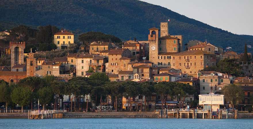 Lago Trasimeno in Italien