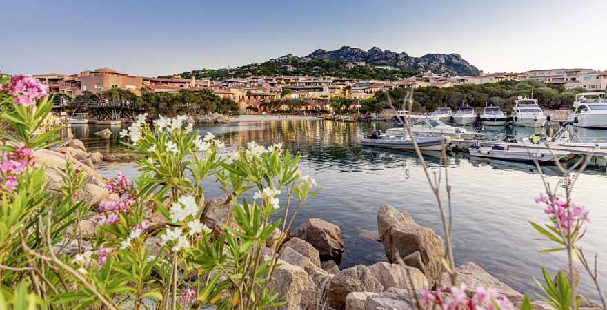 Porto Cervo auf Sardinien in Italien