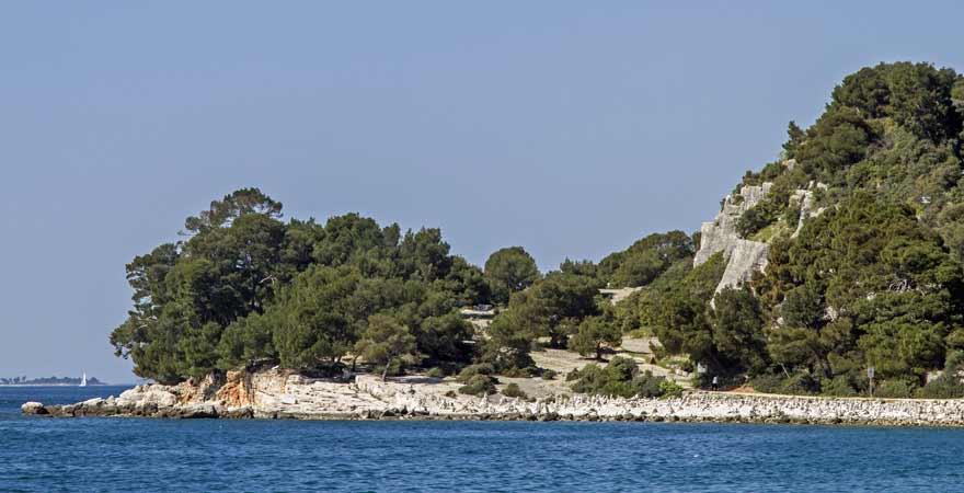 Zlatni Rt in Kroatien