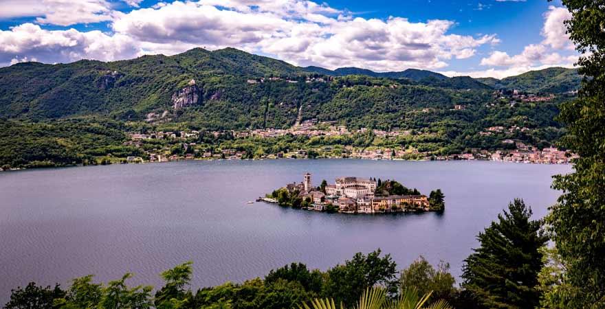 Ortasee in Italien