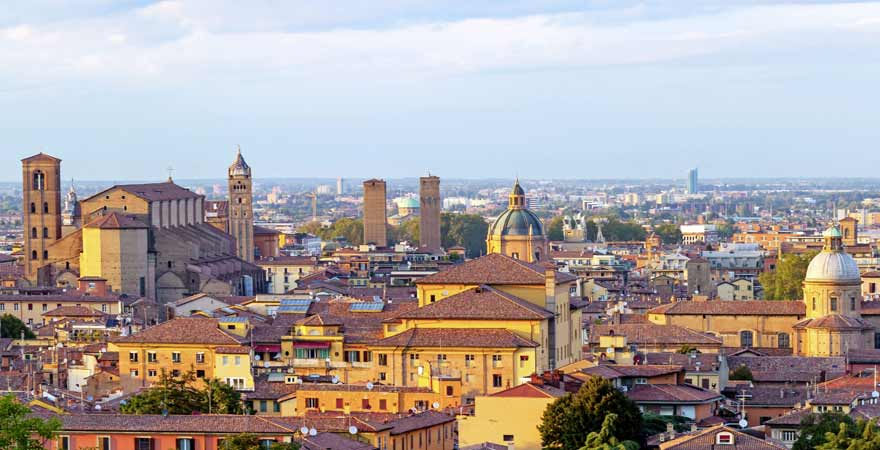 Bologna in Italien
