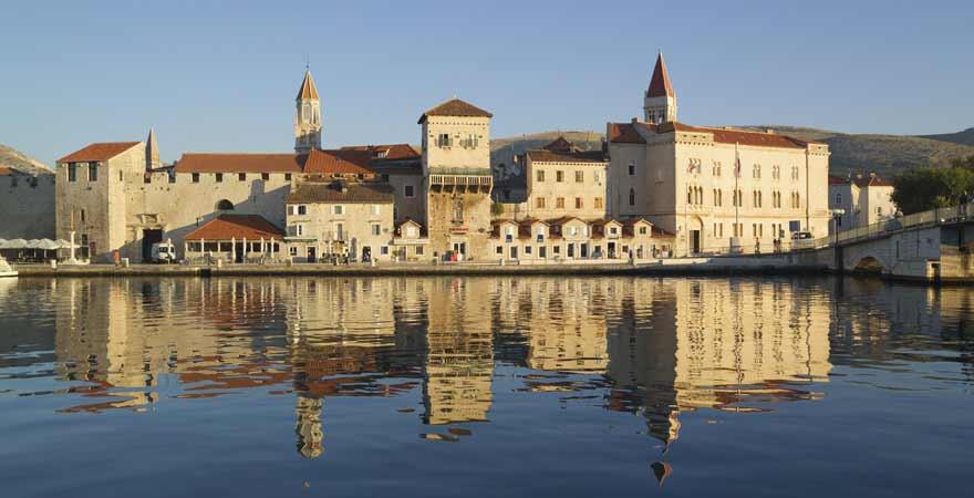 Festung in Trogir in Kroatien