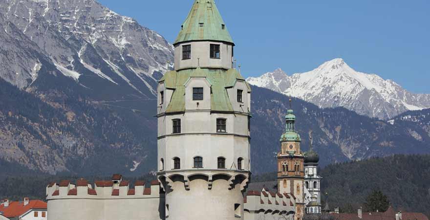 Hall in Tirol in Österreich