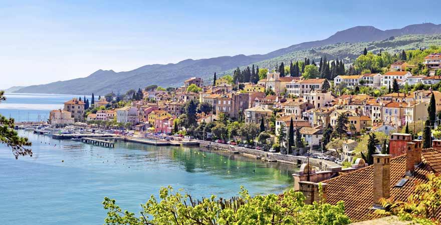 Opatija in Kroatien