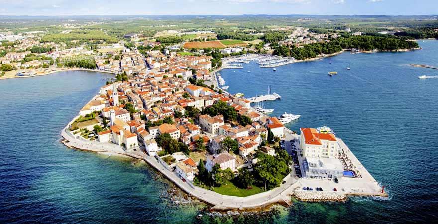 Porec in Kroatien