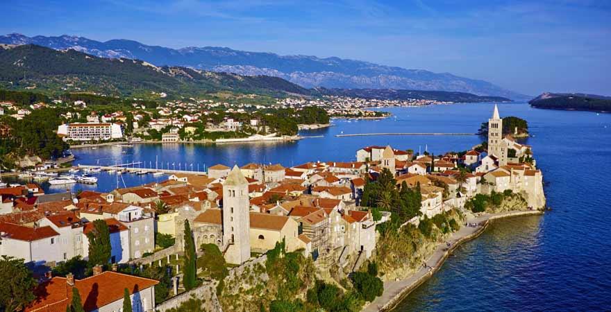 Rab in Kroatien