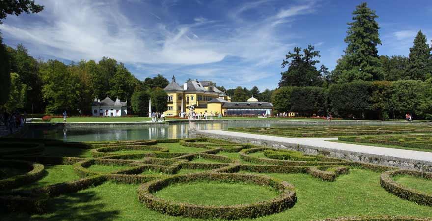 Schloss Hellbrunn in Salzburg in Österreich