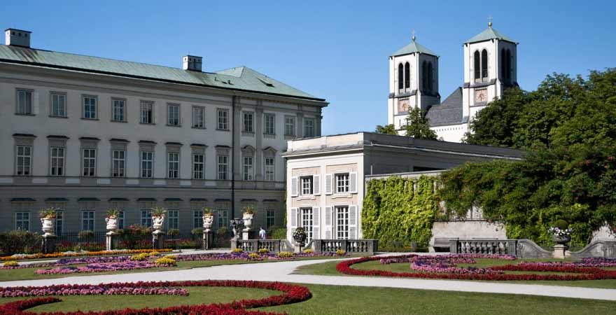 Schloss Mirabell in Salzburg in Österreich