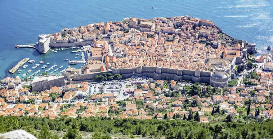 srd in Dubrovnik in Kroatien