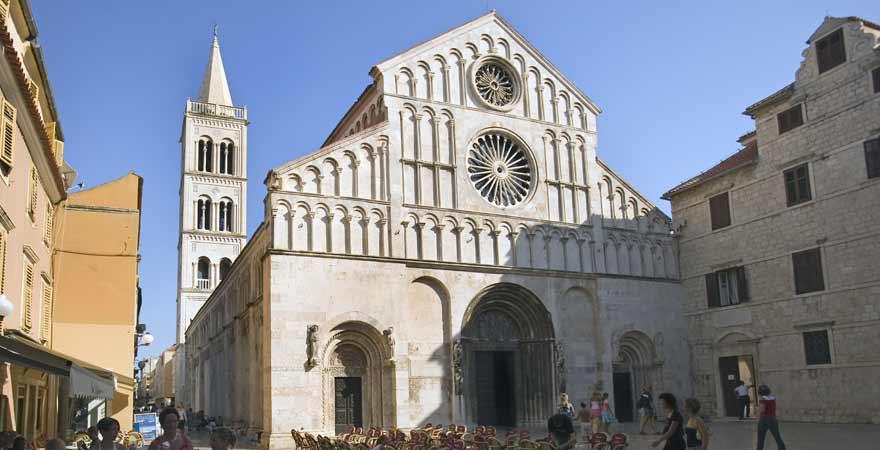 St Anastasija Kathedrale in Zadar in Kroatien