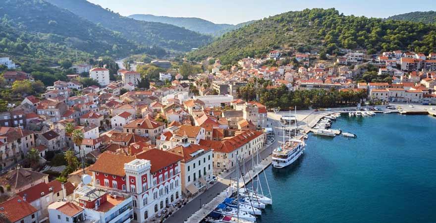 Vis in Kroatien