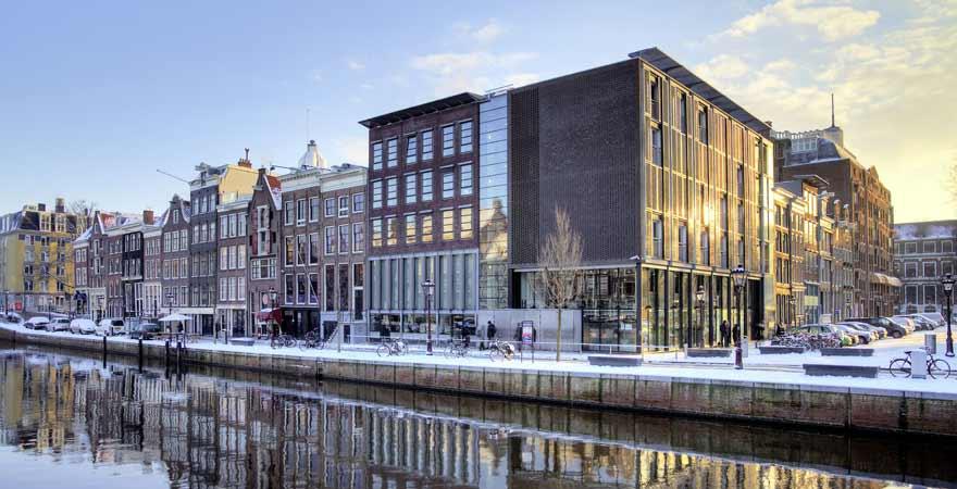 Anne Frank Haus in Amsterdam in den Niederlanden