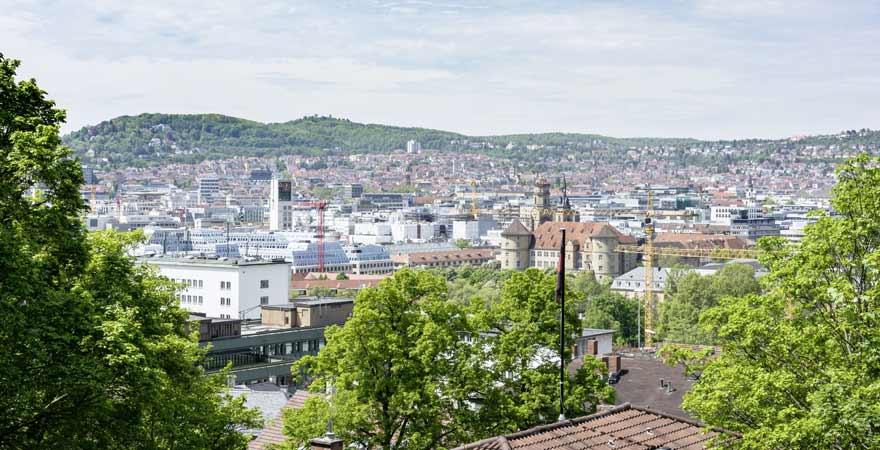 Ausblick auf Stuttgart