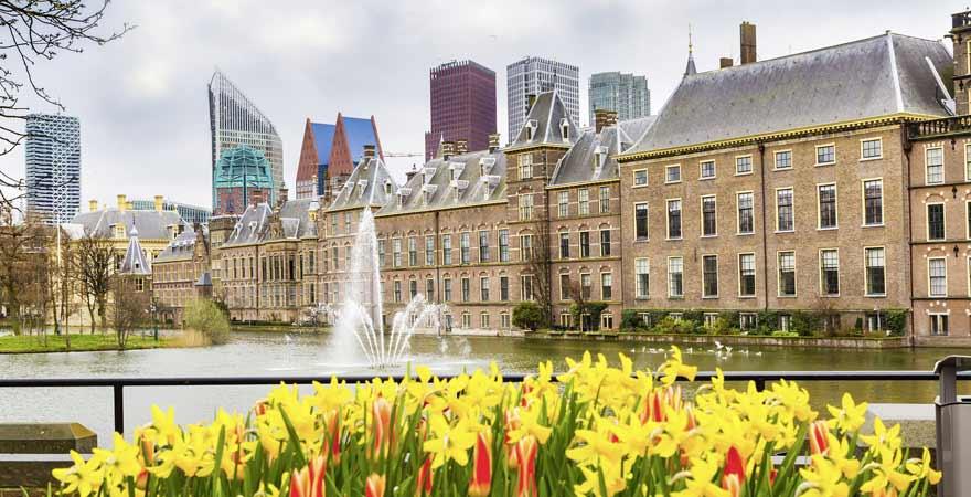 Binnenhof in Den Haag in den Niederlanden