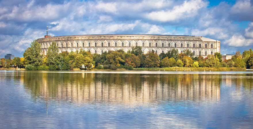 Ehemaliges Reichsparteitagsgelände in Nürnberg