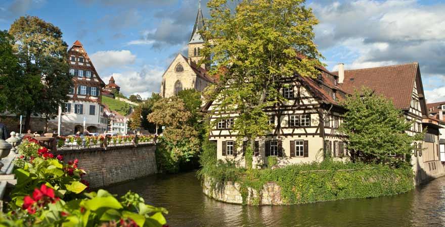 Esslingen am Neckar in Deutschland