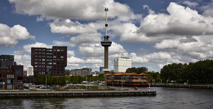 Euromast Tower in Rotterdam in den Niederlanden
