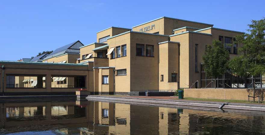 Gemeentemuseum in Den-Haag in den Niederlanden