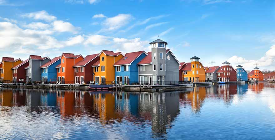 Groningen in den Niederlanden