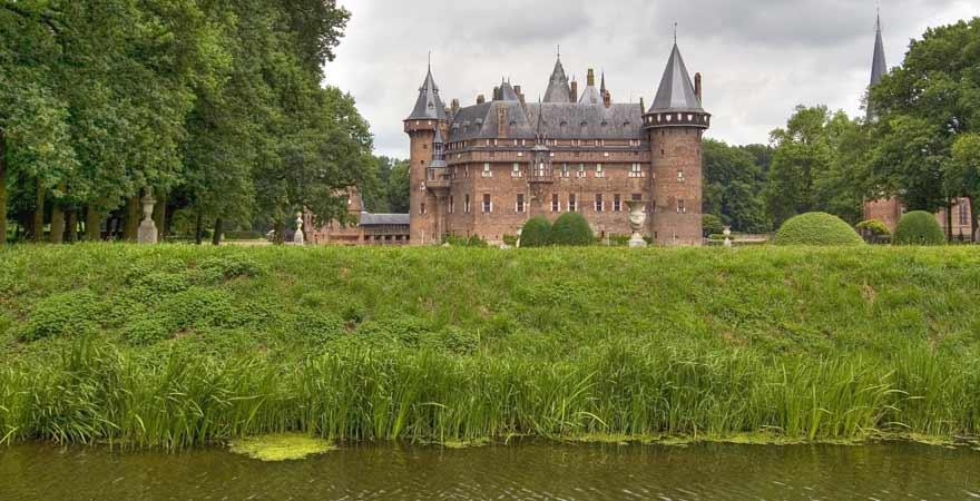 Kasel de Haar Schloss in den Niederlanden
