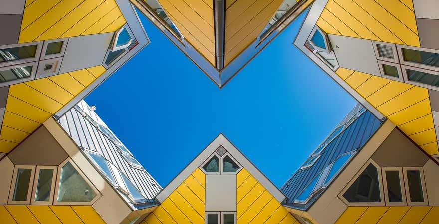 Kubushaus in Rotterdam in den Niederlanden