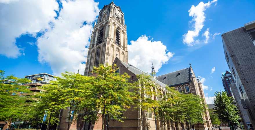 Laurenskerk in Rotterdam in den Niederlanden