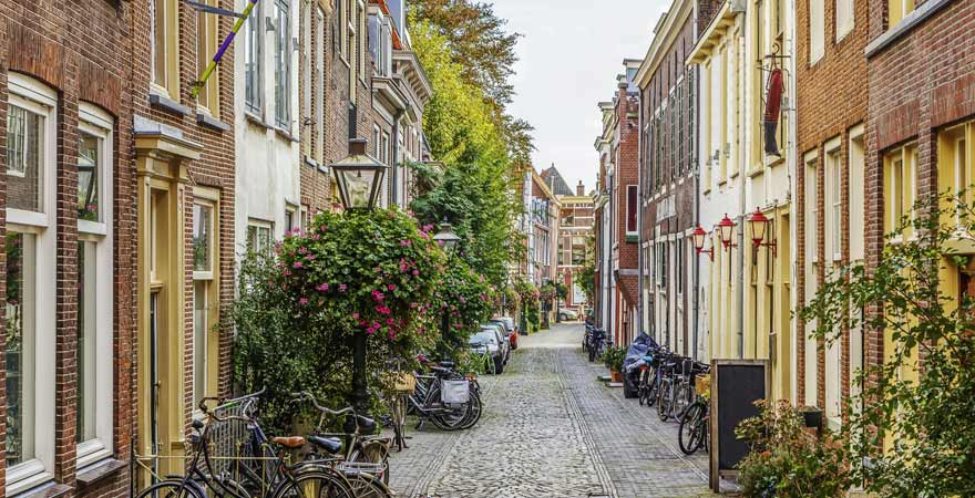 Leiden in den Niederlanden
