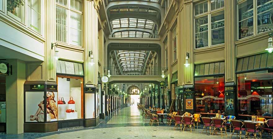 Mädler Passage in Leipzig