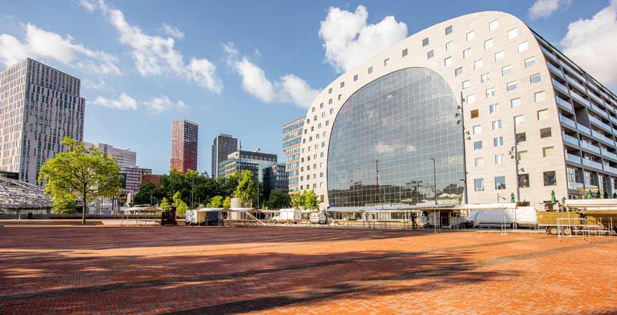 Markthal in Rotterdam in den Niederlanden