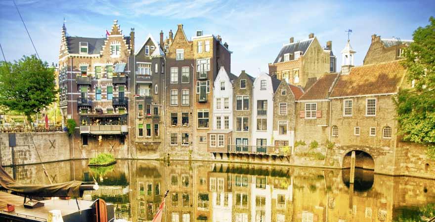 Rotterdam in den Niederlanden