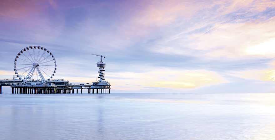 Scheveningen Pier in den Niederlanden