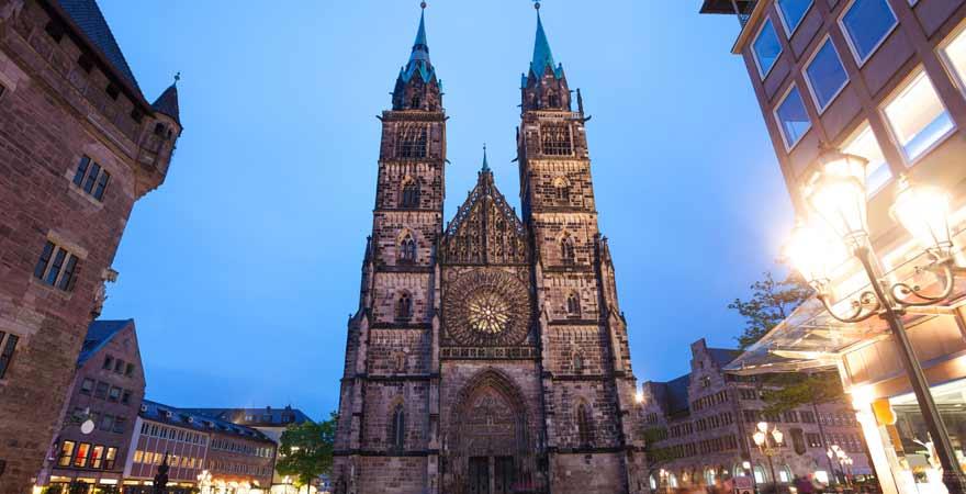 St Lorenzkirche in Nürnberg
