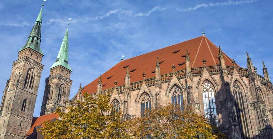 St Sebaldkirche in Nürnberg