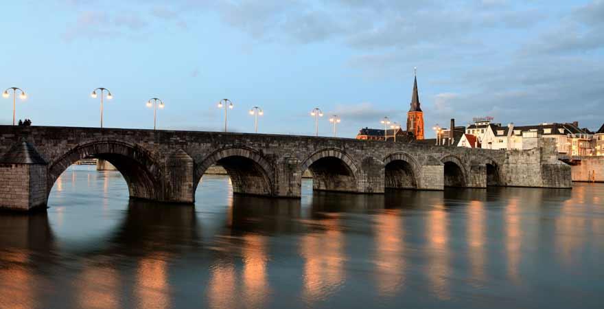 St Servatius Brücke in Maastricht in den Niederlanden