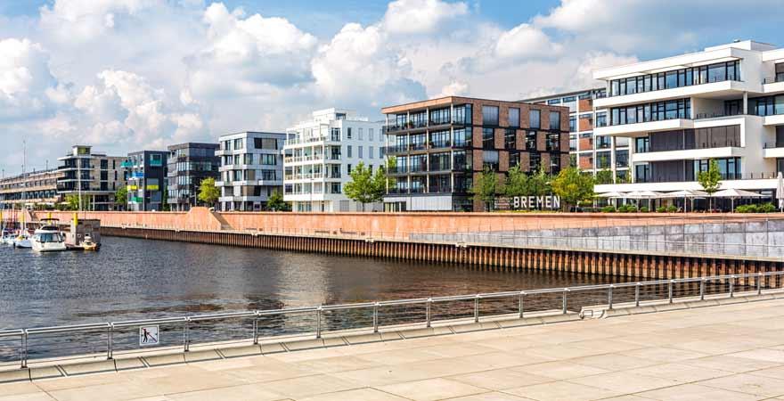 Überseestadt in Bremen