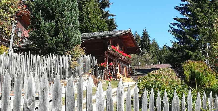 Bauernhaus in Meransen in Südtirol