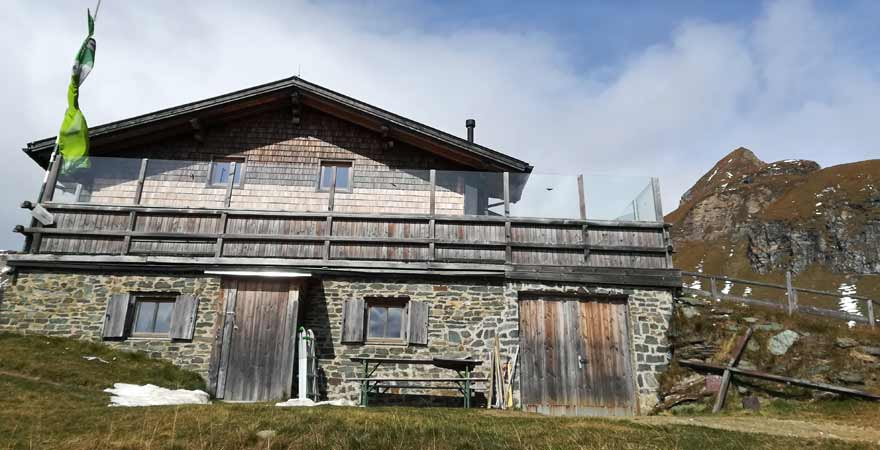 Brixener Hütte in Südtirol
