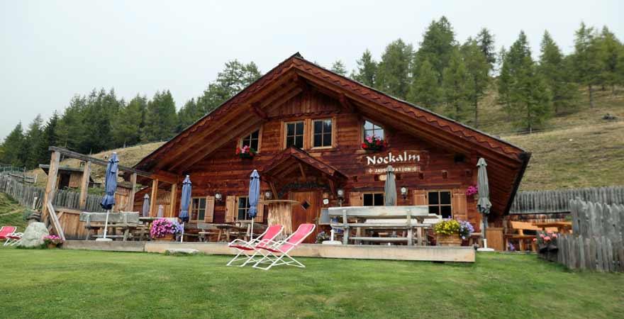 Jochtal Nockalmhütte bei Vals in Südtirol