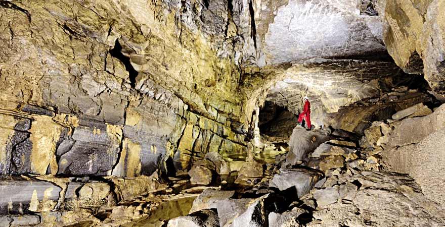 Postojna Höhle in Slowenien