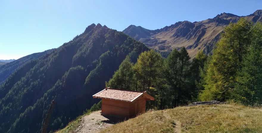 Seefeldspitze bei Vals in Südtirol