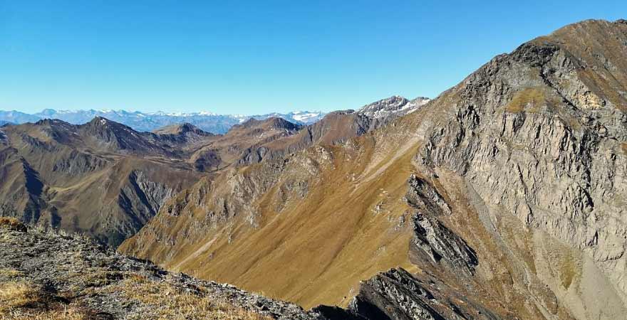 Seespitze Gratwanderung in Südtirol