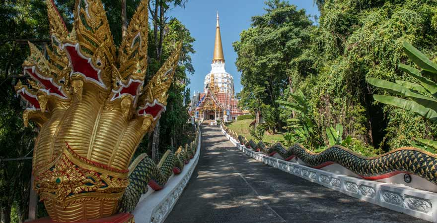 Wat Bang Riang in Thailand
