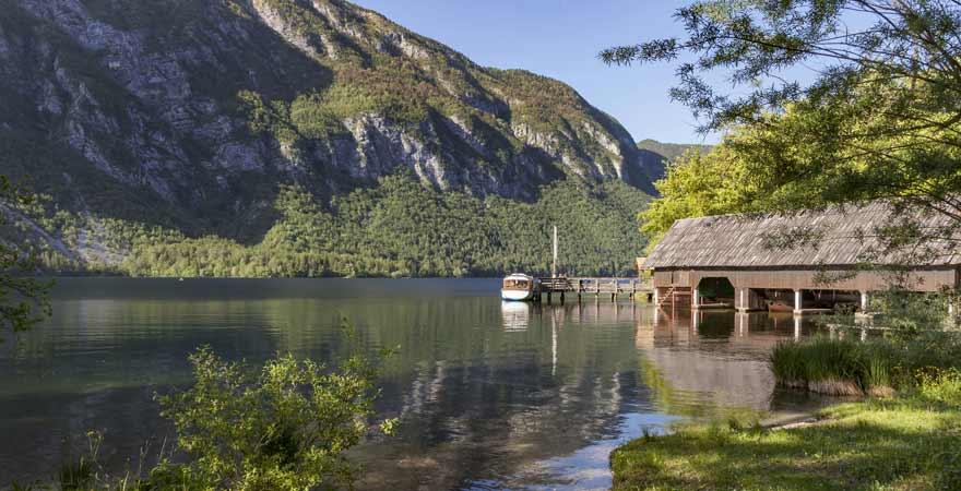 Wocheiner See in Slowenien