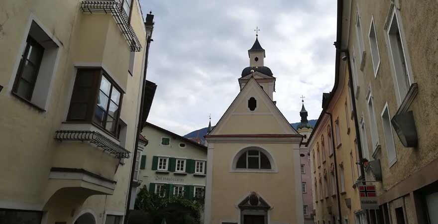 Kapelle in der Altstadt von Brixen in Südtirol