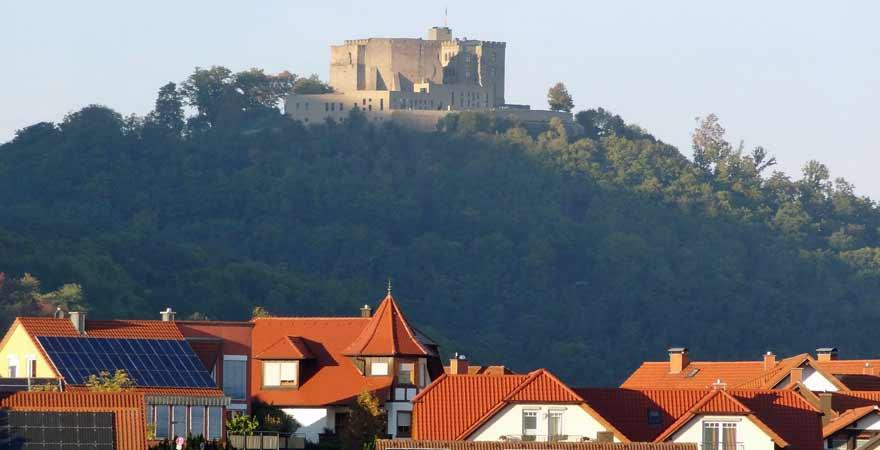 Hambacher Schloss in der Pfalz