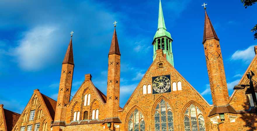 Heiligen Geist Hospital in Lübeck in Deutschland
